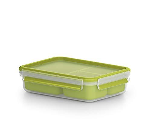 Emsa Lunchbox mit 3 Einsätzen und Deckel 1,2 Liter