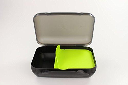 TUPPERWARE Lunch-Box limette mit Trennung