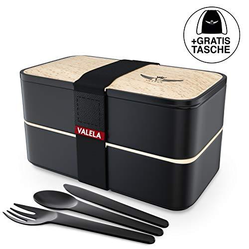 VALELA® Lunchbox – BentoBox für Schule und Arbeit