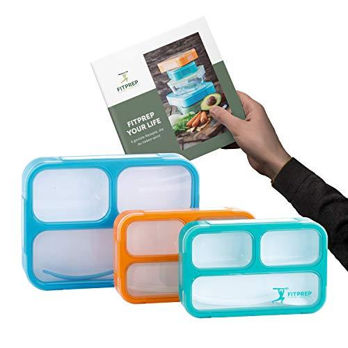 FITPREP® Premium Lunchbox-Set für Kinder & Erwachsene