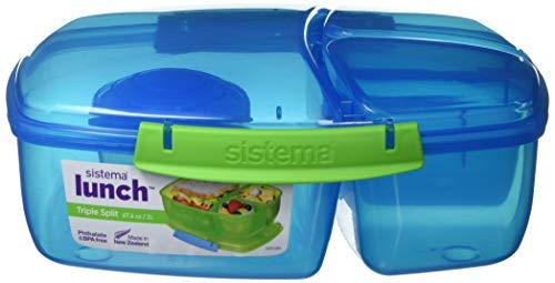 Sistema Triple Split Lunchbox mit Joghurttopf