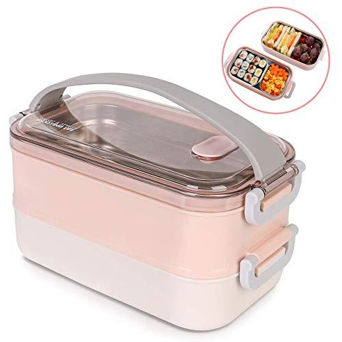 MELISEN Lunchbox mit Edelstahlbehälter