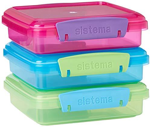Sistema Sandwich-Boxen mit kontrastierenden Clips